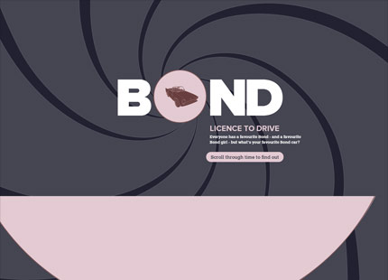 Bond  Licence to Drive