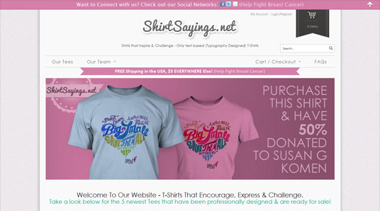 Shirt Sayings (shirts that inspire, challenge & express)