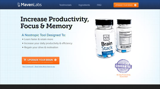 BrainStack – A Nootropic supplement for improved cognitive function