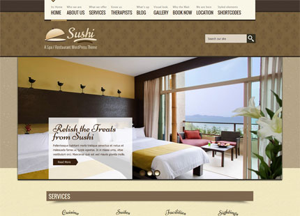 SPA Treats – Spa & Restaurant WordPress