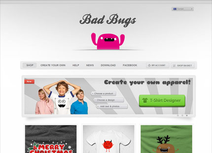 Bad Bug s T Shirt Shop