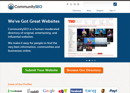 CommunitySEO  Curated Business Directory