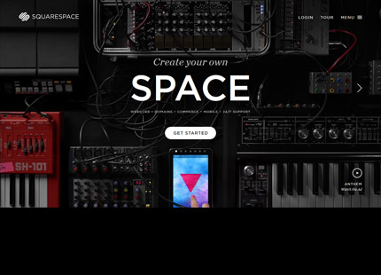 Squarespace – Create Your Own Space
