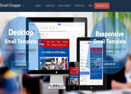 Responsive Email Template Conversion | EmailChopper