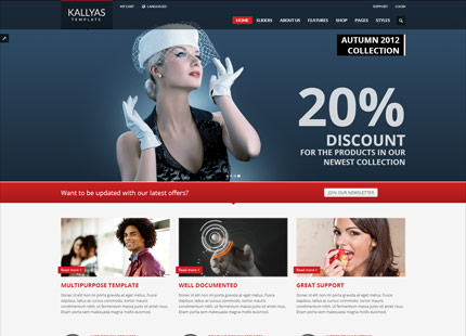Kallyas Responsive Ecommerce WordPress Theme