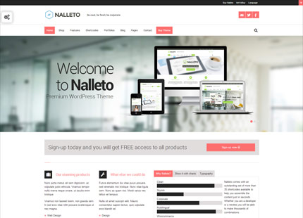 Nalleto – Multipurpose Responsive Ecommerce Theme