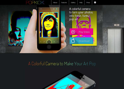 Popkick – Colorful Camera