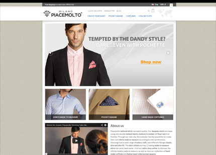 PIACEMOLTO | Tailored Shirts