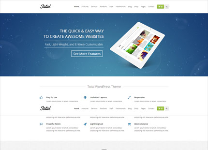 Total Multi-Purpose WordPress Theme