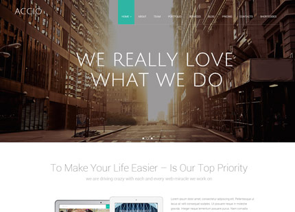 Accio Gallery (OnePage)