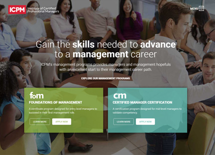 Institute of Certified Professional Managers