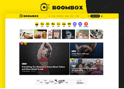 Boombox – Viral & Buzz WordPress Theme