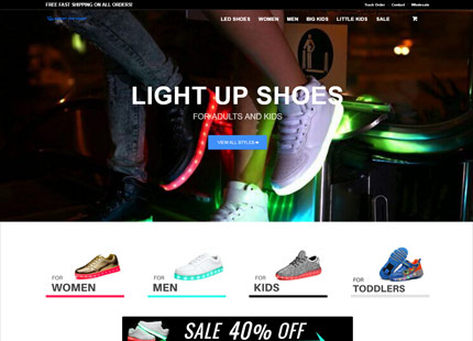 Bright LED Shoes Company